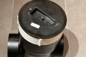Drain repair and backwater valve installation